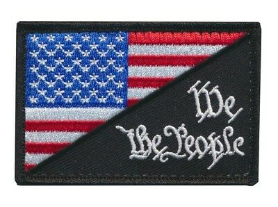 Tactical USA Flag / We The People