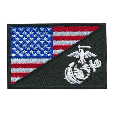 Tactical USA / Marine Corps Flag Embroidered Patch