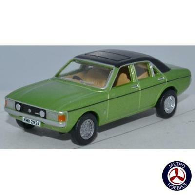 Oxford 1/76 Ford Consul Granada Onyx Green 76FC004 Brand New