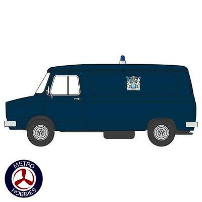 Oxford 1/76 Sherpa Mini Bus Metropolitan Police 76SHP003 Brand New
