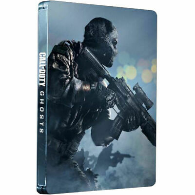 CALL OF DUTY GHOSTS LIMITED EDITION in METAL CASE Playstation 3 PS3 Game PAL