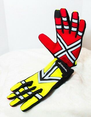 Haltz Gloves Reflective High Visibilty Traffic work, crossing guard runner glove