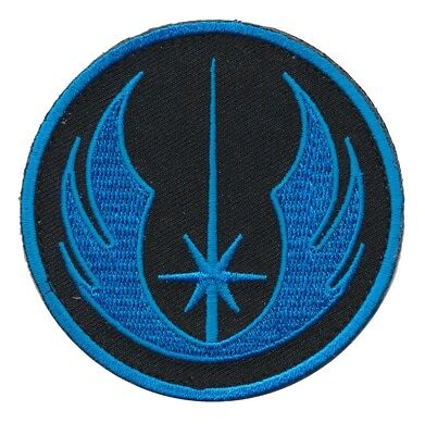 Patch Squad Mens Star Wars Jedi Order ERA Tactical Morale Patch Blue