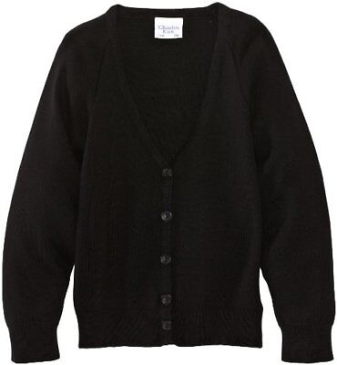 Nero C44 IN UK CHARLES KIRK COOLFLOW CARDIGAN UNISEX (BLACK) C44 IN UK Nuovo