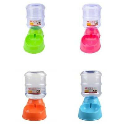 Automatic Pet Feeder Dog Cat Food Water Self Feeding Bowl Dispenser 3.5L