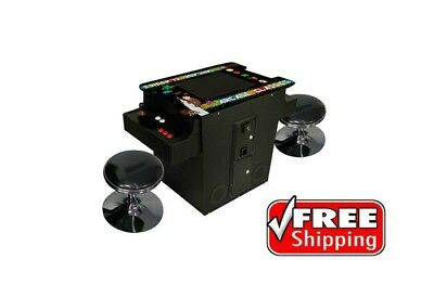 Cocktail Arcade Machine feat. 60 Classic Games / FREE SHIPPING / 1 Year Warranty