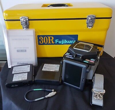 Original Fujikura FSM-30R12 SM MM Single & Ribbon Fiber Fusion Splicer