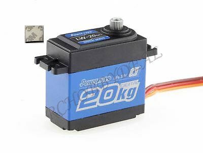 POWER HD LW-20MG Waterproof High-Torque Digital Servo 20kg/60g Cars Airplane D