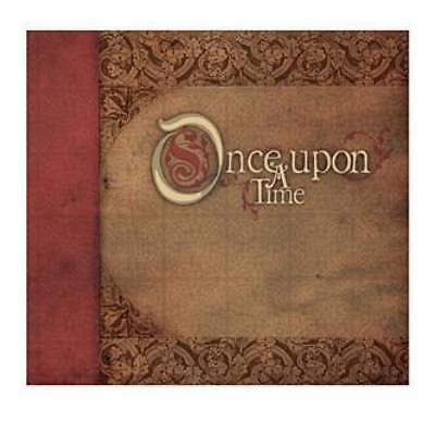 NEW DCVW - Once Upon A Time Post Bound Album W/Glitter 12In. X12in.