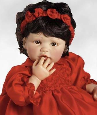 """NEW GORGEOUS 22""""  """"Scarlette"""" DOLL Paradise GALLERIES By Gaby Jaques"""