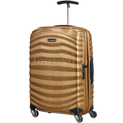 Samsonite Lite-Shock Small/Cabin 55cm Hardsided Suitcase Copper Gold 62764