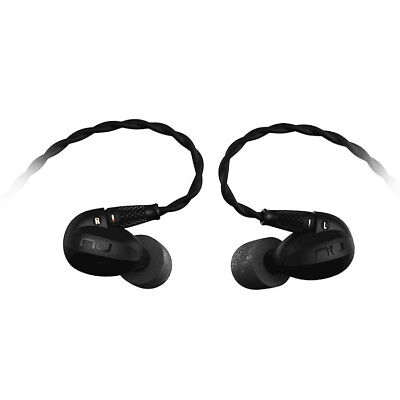 Optoma NuForce HEM8 Quadruple Drivers IEM Earphones - Refurbished