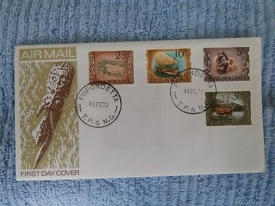Papua & New Guinea First Day Cover - New  National Heritage