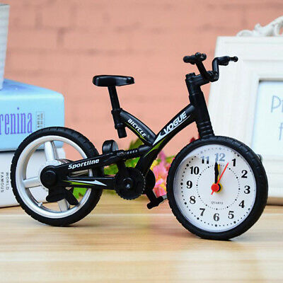 1Pcs Fashion Children home Model Creative Bicycle Alarm Clock
