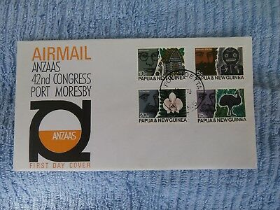 Papua & New Guinea First Day Cover - 42nd ANZAAS Congress Port Morseby