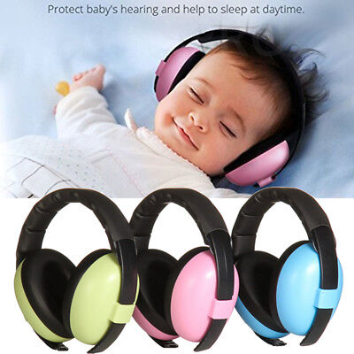 Baby Infant Earmuffs Hearing Protection Ear Muffs Noise Reducing for 0-24 Months