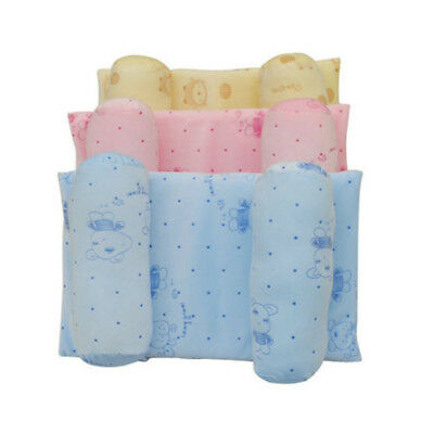 Baby Anti Roll Pillow Child Head Support Cot Prevent Flat Sleep Positioner UK
