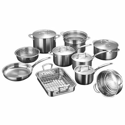 Scanpan - Satin<br>GIANT 10pc Cookware Set