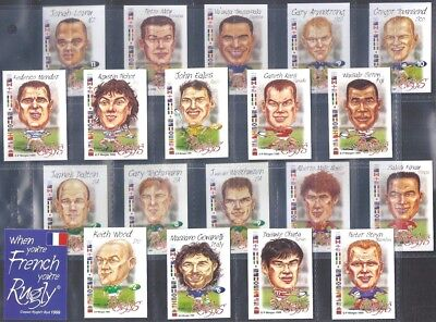 Ruglys-Full Set- Rugby World Cup All Stars (K22 Cards) - Exc+++