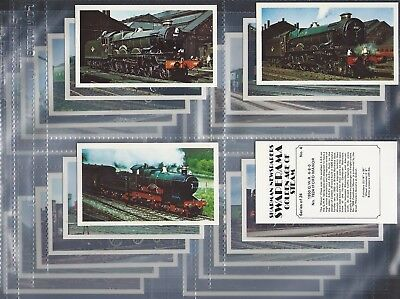 T24 CARDS SHARMAN-FULL SET GOLDEN AGE OF FLYING EXC+++
