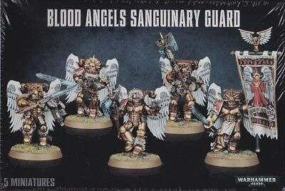 Blood Angels Sanguinary Guard Games Workshop Warhammer 40.000 Gw 40k 41-08