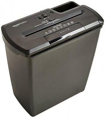 Industrial Paper Shredder Heavy Duty Commercial Cut CD DVD Credit Card 8 Sheets