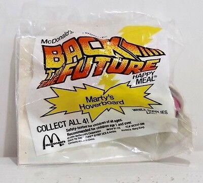 Mcdonald's - Back To The Future 1991 Marty's Hoverbord   Mip