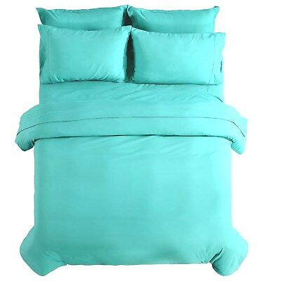 3 Piece Duvet Cover Set Egyptian Comfort 1800 Count -  Not a Comforter -