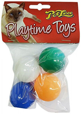 Pet Love Playtime Ping Pong Balls for Cats Cat Play Ball Toy
