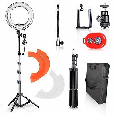 Light Photo Camera Dimmable Circle Flash Video Studio Kit Bluetooth RC For Phone