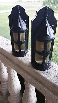 sconces exterior lighting old world spanish gothic mediterranean arte de mexico