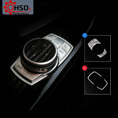 Multimedia Buttons Cover Trim For BMW F30 F10 F20 F25 F07 X1 X3 X5 X6 3 Series