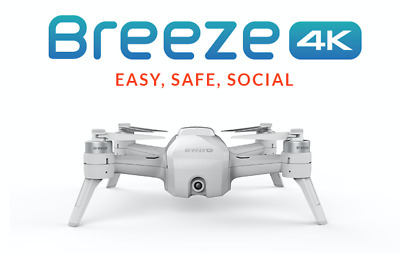 Yuneec Breeze Drone 4K Video Factory Refurbished Authentic USA Seller