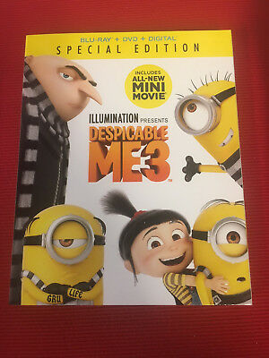 DESPICABLE ME 3 (BLU-RAY, DVD & Digital) - Free Shipping