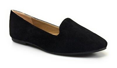 31147dffa2b Womens Chic Ballet Loafer Flats Slip On Comfortable Shoes Forever Link Diana -81