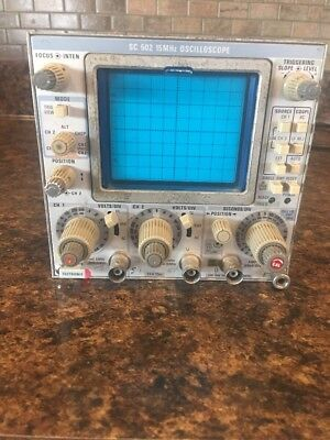 Tektronix SC502 Oscilloscope Plug In