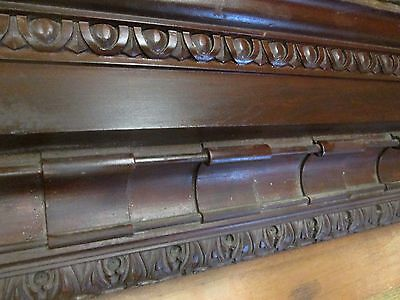 Victorian Architectural Cornice Pc.impressive 11 Ft+  Estate # 49  Now At Cost!