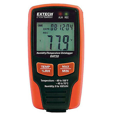 Extech RHT20 Humidity & Temperature Datalogger; 16,000 readings