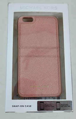 Michael Kors Lemonade Pink Saffion Trim iPhone 6 Plus Snap On Phone Case