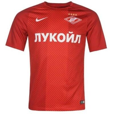 NIKE Spartak Moscow Clubs Football Home Tricot Jersey Men's Shirt 2017 2018 NEW