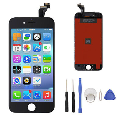 2Model A1549 A1586 Screen Replacement LCD Digitizer Assembly for iPhone 6 Black