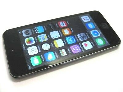 Apple Ipod Touch 5Th Generation 16Gb Space Grey New H/phones Original Charger