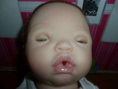 """ Nina The Living Baby "" So Truly Real vinil doll 16"" tall Laughing Giggling"