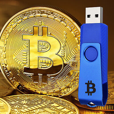 BITCOIN AT HOME - USB drive for beginners, easy setup from wallet to mining!