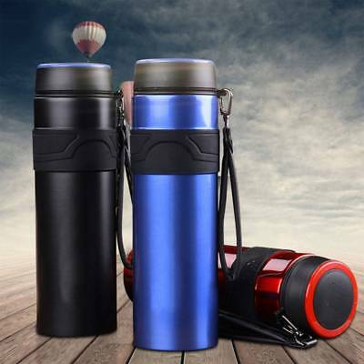 1000ml Stainless Steel Insulated Thermos Cup Flask Travel Mug Water Drink Bottle