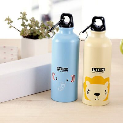 Travel//Home//Office Bicycle Cartoon Aluminum alloy Water Bottle Vacuum Flask CYQ