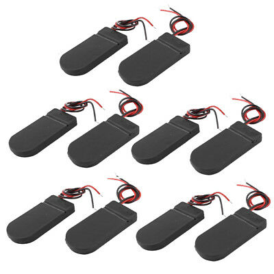 10 PCS ON/OFF Switch 2 x 3V CR2032 Cell Button Battery Holder for LED D2U5 F3A0