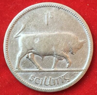 Irland Eire 1 Shilling 1931 Silber