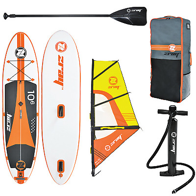Pack Stand Up Paddle ZRay SUP W2 10'6