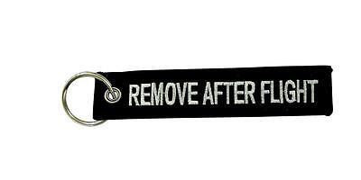 Keychain keys remove before after flight aircraft aviation pilote black